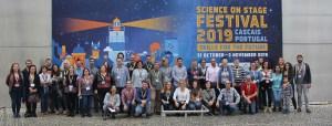 (Portal): O Festival Science on Stage 2019 terminou em festa – projeto português recebeu o European STEM Teacher Award