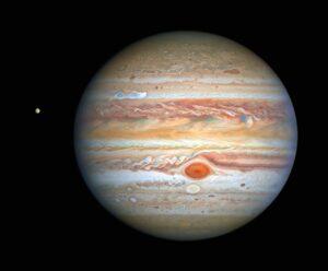 (Portal): O Hubble mostra uma bela imagem de Júpiter