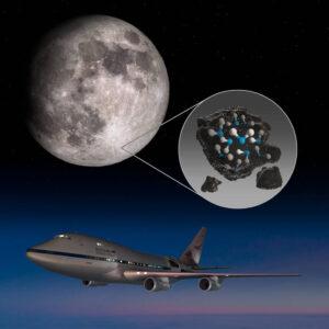 (Portal): O SOFIA descobriu água na superfície da Lua iluminada pelo Sol