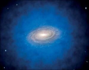 (Portal): Novo estudo sugere que os buracos negros supermassivos se podem formar a partir de matéria escura