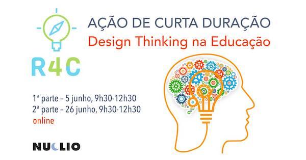 Ação de curta duração: Reflecting for Change – Design Thinking na educação