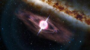 (Portal): Fogos de artifício no Universo – um recorde e uma consequência inesperada
