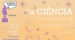 (Portal): O Soapbox Science Lisboa está de volta!